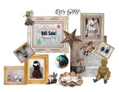 Etsy Gifts Black Friday Sale by starshinevintage on Polyvore featuring Hostess, Bølo and Polaroid
