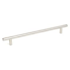 This brushed finish stainless steel oversized cabinet pull with T-Handle design is a part of the Premium Grade Stainless Steel Series from Century Hardware and is perfect for use on cabinet doors and drawers capable of accepting a mounted pull.
