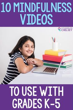 These mindfulness videos for elementary students are great for introducing mindfulness and teaching students different mindfulness techniques. Use them in individual, small group and classroom counseling lessons to help kids understand more about how this important self-regulation strategy. The videos are also great to share with students who are doing distance learning. Coping Skills Activities, Counseling Activities, Group Activities, Elementary School Counselor, School Counseling, Elementary Schools, Teaching Mindfulness, Mindfulness Activities, How To Teach Kids