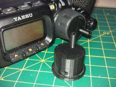 Parametric FT-817 Crank Knob by MattS - Thingiverse