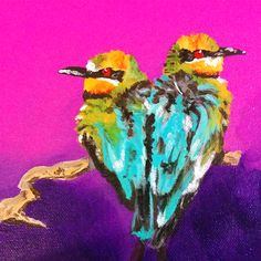 I am Samantha Vincent and I create things. Hand painted items in London, Ontario, Canada. Art - Painting and Drawings available to purchase as well as custom pieces Craft Items, Love Birds, Hand Painted, Paintings, Drawings, Crafts, Art, Art Background, Arts And Crafts