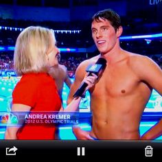 So proud of my cousin Conor Dwyer for making the 2012 Olympic team!!!!!