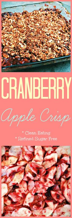 Pear Cranberry Crisp with Gingersnap Crumble | Recipe | Pears and ...