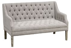 Otb Camille Grey Settee - Signature Bench for the dining table?