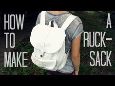 Como Fazer Uma mochila   E Um Mundo esperto