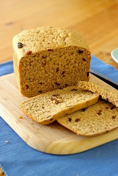 Honey-Sweetened Raisin Bread in the Bread Machine - great for keeping sugar low in your diet!