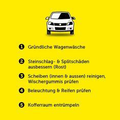 Frühlings-Tipps für Autofahrer Car, Autos, Advice, Automobile, Spring, Cleaning, Tips, Vehicles, Cars