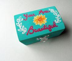 Jewelry Boxes for Teens | Wood Jewelry Box , Teen Jewelry Box , Gifts Under 20 , Keepsake Box ...