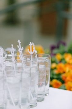Anchor cocktail stirrers. New Bedford Wedding from Ruth Eileen Photography  Read more - http://www.stylemepretty.com/2013/08/20/new-bedford-wedding-from-ruth-eileen-photography/