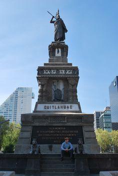 Cuauhtemoc. Paseo de la Reforma. Mexico City.