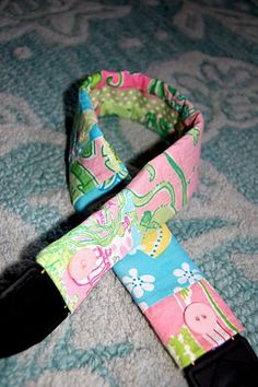 College Prep: Lilly Pulitzer Camera Strap || Again, for my girlly girls!