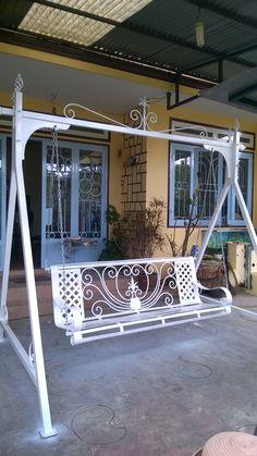 Grill Gate Design, House Main Gates Design, Steel Gate Design, Front Gate Design, Door Gate Design, Balcony Glass Design, Balcony Railing Design, Iron Patio Furniture, Steel Furniture