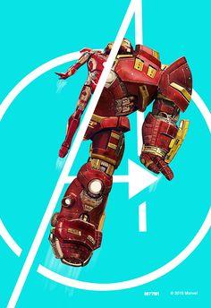 Iron Man - Mark XLIII / Hulkbuster by Marco D'Alfonso