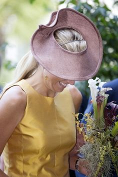 04 September 2013 Queen Maxima  opens the renovated tropical greenhouse complex in the Hortus Botanicus tropical garden in Leiden
