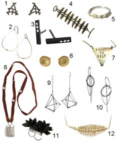 """At #sockhopny we carry select pieces by designer #beatricekim (see #21). 248 Elizabeth Street, NY, NY, 10012 """"Get the Look: 40 Pieces from Boston Jewelry Designers - StyleCarrot"""""""