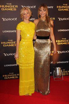 Elizabeth Banks and Jennifer Lawrence - Effie and Katniss!!