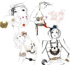 Garance Doré #fashionillustrations