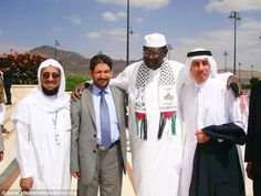 Pictured: Obama's half-brother wearing Hamas scarf that boasts 'Jerusalem is ours – WE ARE COMING' ----•Malik Obama runs the Barack H. Obama foundation and was the Best Man at the president's wedding •He appeared at the 2010 Orphans Development Fund conference wearing a Hamas 'keffiyeh' scarf with well-known Palestinian slogans printed on it •The sayings included 'Jerusalem is ours – WE ARE COMING' and 'From the river to the sea,' a statement that suggests Israel doesn't exist