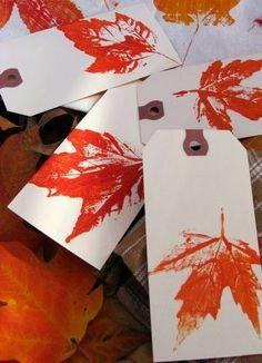 Miércoles de inspiración ? Decora con hojas secas   Aprender manualidades es facilisimo.com