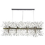 Chandelier ,  Traditional/Classic Electroplated Feature for Crystal Metal Living Room Dining Room Study Room/Office – AUD $ 979.99