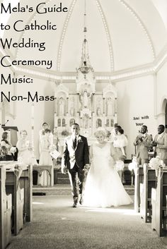 Catholic Wedding Ceremony Non M Music Guide For The Sacrament Of Marriage