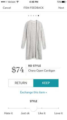 Interested in a personal stylist? Try stitch fix, where they look at your style interests to tailor a box just for you! Click my referral link below: stitchfix.com/referral/5006859