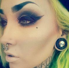 makeup & plugs ig; @fullmetaljaxon