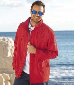 Coupe-Vent Nautique - Réf. : T9045 #summer #travel #voyage #atlasformen #formen #discount #shopping #ootd #outfit