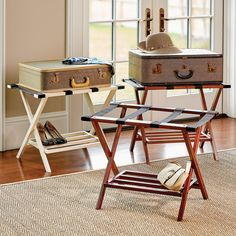 11 Best Luggage Racks Images Guest Bedrooms Guest Room