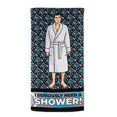 Archer Beach & Bath Towel