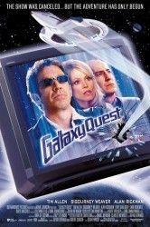 Sinopsis: Galaxy Quest es el título de una serie de televisión que se ha emitido con gran éxito durante treinta años. Pero repentinamente deja de emitirse, y sus protagonistas se dedican a pasear sus antiguos uniformes por convenciones y programas especiales. Los que no saben es que una raza alienígena del espacio exterior, los Thermians, captaban la serie creyendo que […].  JA,ja,ja....para frikis como yo , BUENÍSIMA Y GRACIOSISIMA
