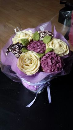 Bouquet of Cupcakes.