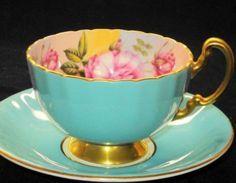 aqua tea cups - Google Search