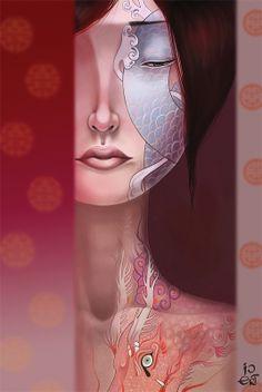 002 tatooed girls olga ert Tattooed Girls by Olga Ert