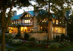 Stonebridge Inn and Spa; Batesville, INDIANA...Why, well it's part of our last name and it's one of Food & Wines top Inns! Why not explore the US of A?