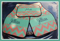 Car Mats Monogrammed Gifts Personalized Custom Car Mats Cute Car Accessories For Women Car Mat Monogram Gift Ideas Sweet 16 Car Decor by ChicMonogram on Etsy https://www.etsy.com/listing/161119383/car-mats-monogrammed-gifts-personalized