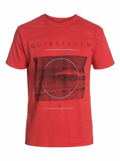 quiksilver, Focused Modern Fit T-Shirt, Baked Apple - Solid (rnz0)