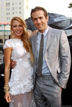 Blake Lively and Ryan Reynolds hottest couple alive