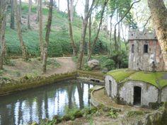 Pelos Jardins do Palácio da Pena - Sintra.