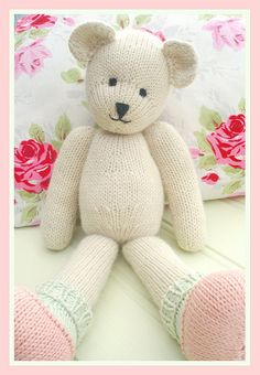 CANDY Bear is designed to the same format as MJT Rabbits and so you can knit any of the clothes from the Rabbit patterns for CANDY.