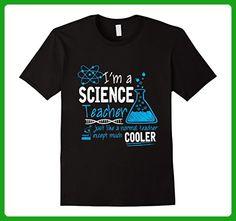 Mens Science Teacher Like A Normal Teacher But Cooler T-Shirt 3XL Black - Math science and geek shirts (*Amazon Partner-Link)