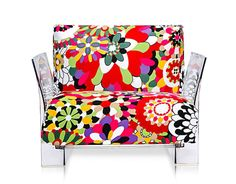 Pop Missoni Lounge Chair by Piero Lissoni for Kartell
