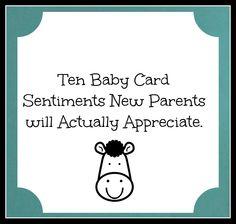 babycardsentiments