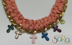 collares crochet TRAPILLO - Buscar con Google