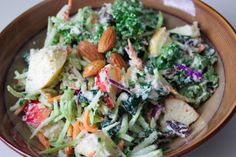 Healthy Vita: Kale and Apple Salad with a Curry Almond dressing