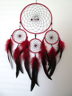 Custom Dreamcatcher Tribal Dreamcatcher Large by CustomCatchers Loved & Pinned by http://www.shivohamyoga.nl/ #dreamcatchers