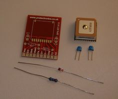 Micro GPS Module for Arduino PIC AVR With Breakout Board. Serial Output NMEA