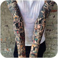Inspiration for Lovers of Traditional Tattoos | Tattoodo.com