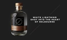A white lightning shot into the heart of Bristol. Melbourne Moonshine is a  new alcohol brand based out of South Melbourne and they appointed Sense to  work on their branding, packaging and website.