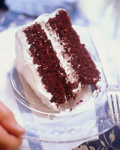 Red Velvet Chocolate Cake Recipe via Martha Stewart